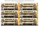 Super Bowl 50 Party Ticket Template