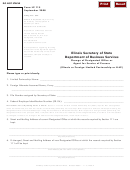 Form Lp 115 - Change Of Designated Office Or Agent For Service Of Process - 2008