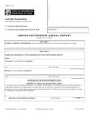 Limited Partnership Annual Report Form - Washington Secretary Of State