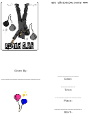 90's Party Invitation Template