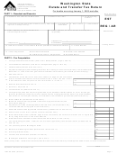 Washington State Estate And Transfer Tax Return Form - Washington Department Of Revenue