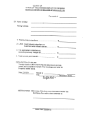 Monthly Report Form For Billings Of Cellular Tax