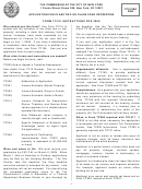 Form Tc101ins - Application For Class Two Or Class Four Properties - 2009