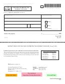 Vt Form Fi-165 - Fiduciary Estimated Tax Payment Voucher