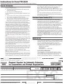 California Form 3539 (corp) - Payment Voucher For Automatic Extension For Corporations And Exempt Organizations - 2003