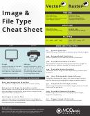 Image & File Type Cheat Sheet