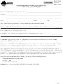 Montana Form Fcp-af - Film Production Credit Application Fee