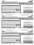 Form 100-es - Corporation Estimated Tax - 2003