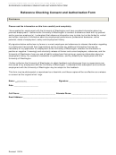 Reference Checking Consent And Authorization Form