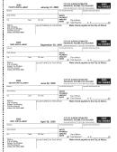 Form Al-1040es - City Of Albion Estimated Individual Income Tax Voucher - 2005