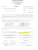 License Notice - Schedule E - Jacksonville - Alabama