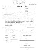 Schedule B - License Notice For New Business