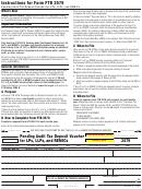Form 3579 - Pending Audit Tax Deposit Voucher For Lps, Llps, And Remics - 2007
