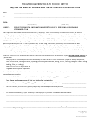 Request For Medical Information For Reasonable Accommodation Form - 2014