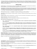 Instructions For Pennsylvania Unemployment Compensation - Power Of Attorney Form Uc-884 January 2005