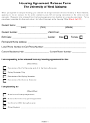 Housing Agreement Release Form