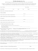Patient Authorization For The Disclosure Of Protected Health Information Form