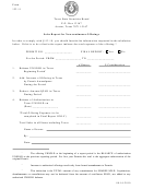 Form 133.11 - Sales Report For Non-continuous Offerings - Texas State Securities Board