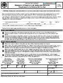 Form Tc-810 - Exemption Affidavit Of Utah Safety And Emission Requirements For Vehicles Not In Utah