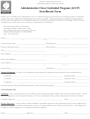 Form 8405t - Administrative Clear Credential Program (accp) Enrollment Form - California Division Of Educational Services