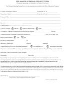 Pre-award Spending Request Form