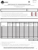 Montana Form Hi - Health Insurance For Uninsured Montanans Credit - 2004