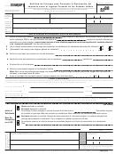 Form 2350(sp) - Solicitud De Prorroga Para Presentar La Declaracion Del Formulario 2350(sp) Impuesto Sobre El Ingreso Personal De Los Estados Unidos - 2008