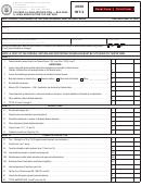 Form Int-3 - Savings & Loan Association - Building & Loan Association Tax Return - 2008