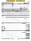 Short Form 540nr - California Nonresident Or Part-year Resident Income Tax Return - 2003