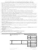 Form 44-101 - Withholding Monthly Deposit