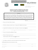 Forn Llc 9 - Statement Of Change Of Registered Agent And/or Registered Office Of Limited Liability Company