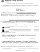 Form Ems 5203 - Voluntary Election For Unemployment Insurance Coverage