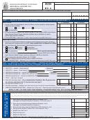 Form Mo-a - Individual Income Tax Adjustments - 2004