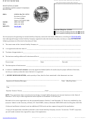 Registration Of Name Of Foreign Limited Liability Company Application - Montana Secretary Of State