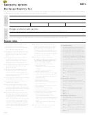 Form Mrt1 - Mortgage Registry Tax