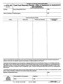 Form 2751-ad - Trust Fund Recovery Penalty - Offer Of Agreement To Assessment And Collection