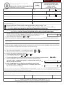 Form Hpc - Application For Homestead Preservation Credit