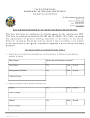 Application For Renewal Of Agent For Issuer Registration