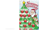 Christmas Santa Card Template
