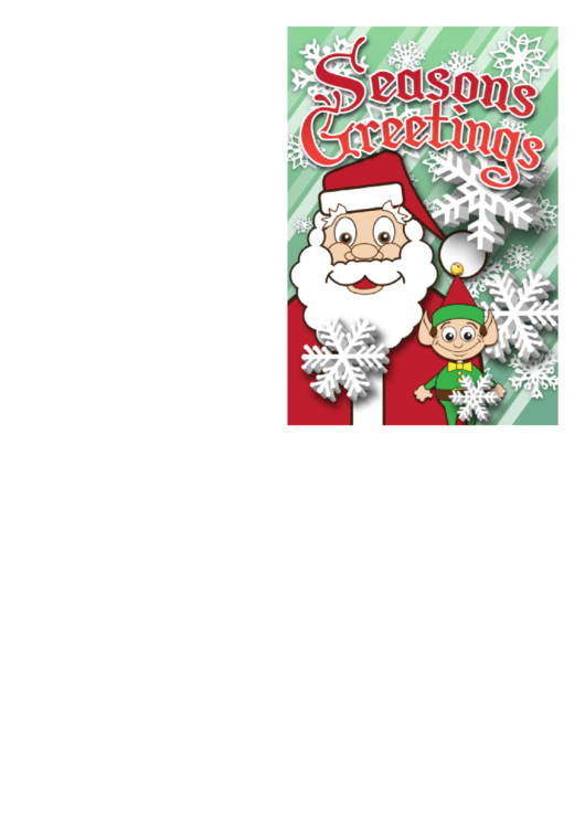 Top 15 Santa Christmas Card Templates free to download in ...