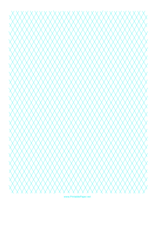 Diamond Graph Paper 1cm Printable pdf