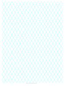 Diamond Graph Paper 2cm