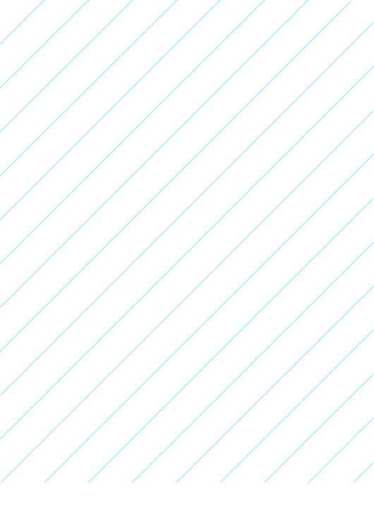 Diagonal Right Left 1 Inch Graph Paper Printable pdf