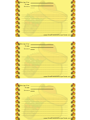 Mexican Lined 3x5 Recipe Card Template
