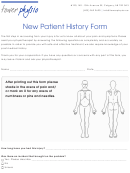 Tower Physio New Patient History Form