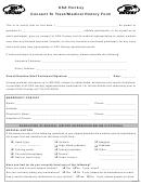 Usa Hockey Consent To Treat/medical History Form