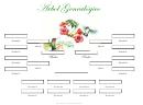 4 Generacion Arbol Genealogico Con Hermanos