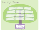 Wide Family Tree