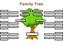 Family Tree With Aunts Uncles And Cousins