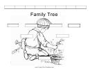 Black And White Family Tree